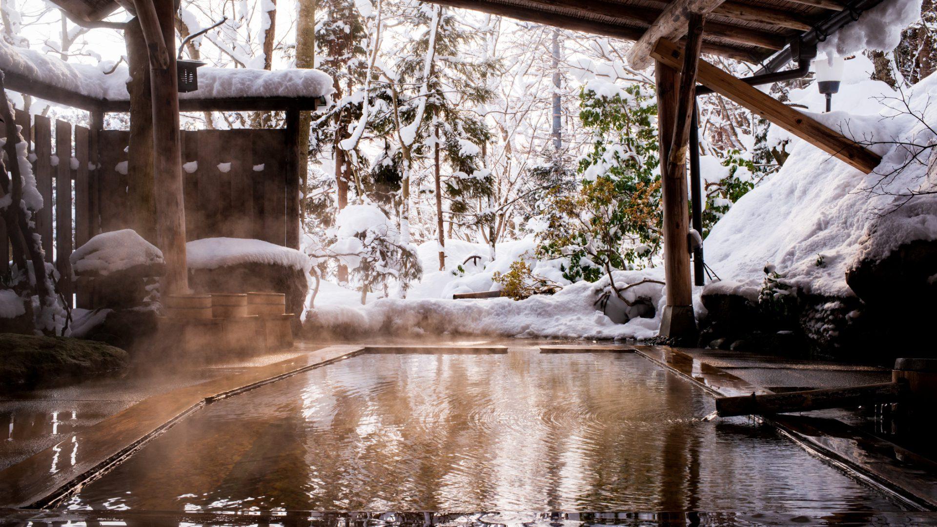冬の旅館大沼さん 2015年2月11日撮影